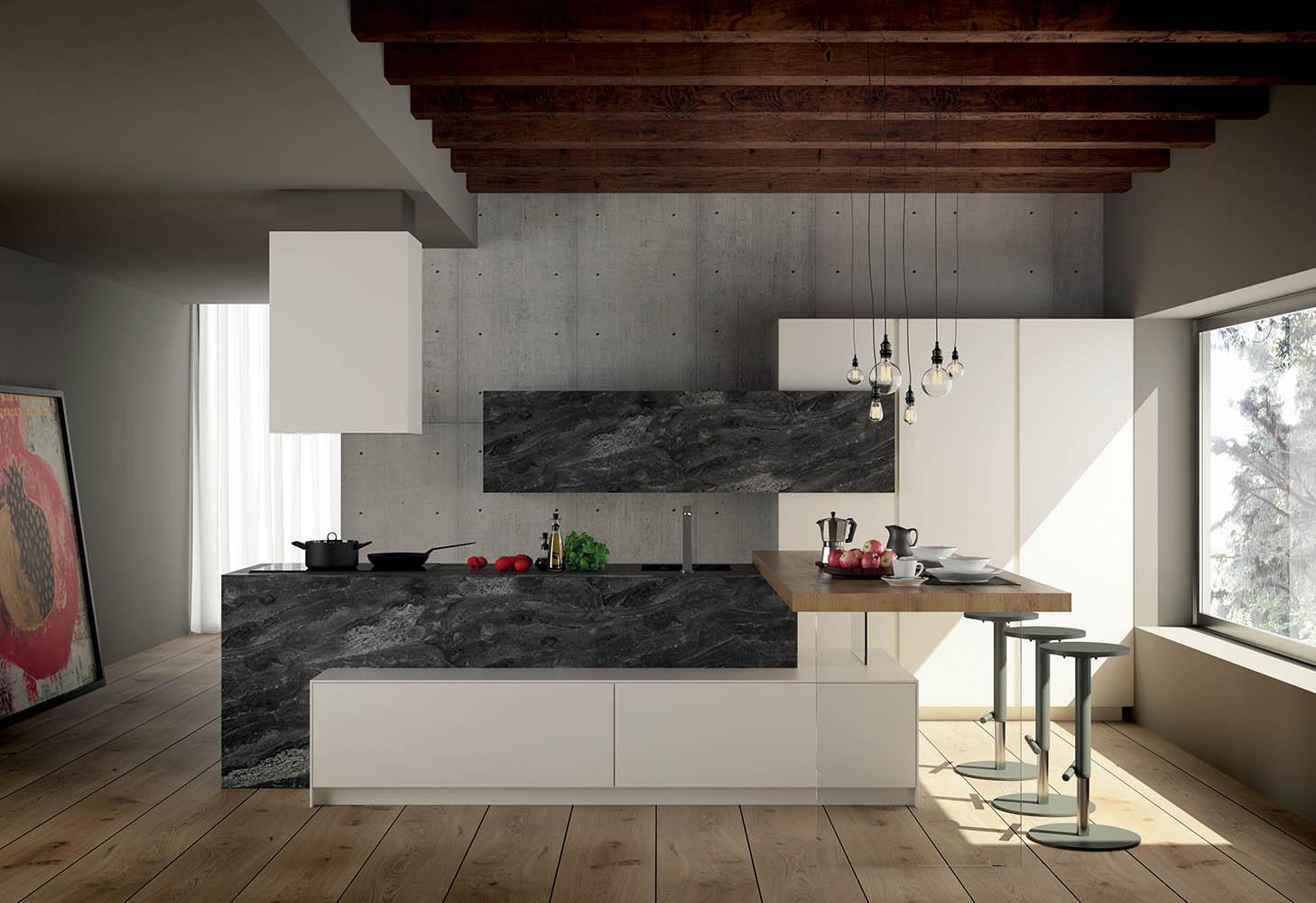 Cucine Moderne Con L Isola.Cucine Con Isola Scegli Lo Stile Moderno Per La Tua Cucina
