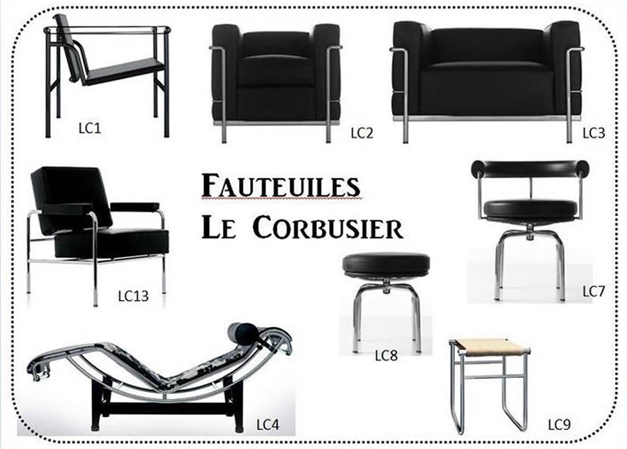 LC Collection - Le Corbusier Cassina