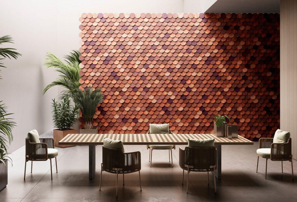 Rivestimento parete Circle Wall - DeSign De Castelli