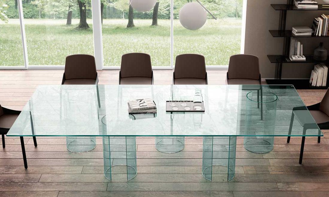 Tavolo riunione Luxor Rodolfo Dordoni - Fiam Genesin
