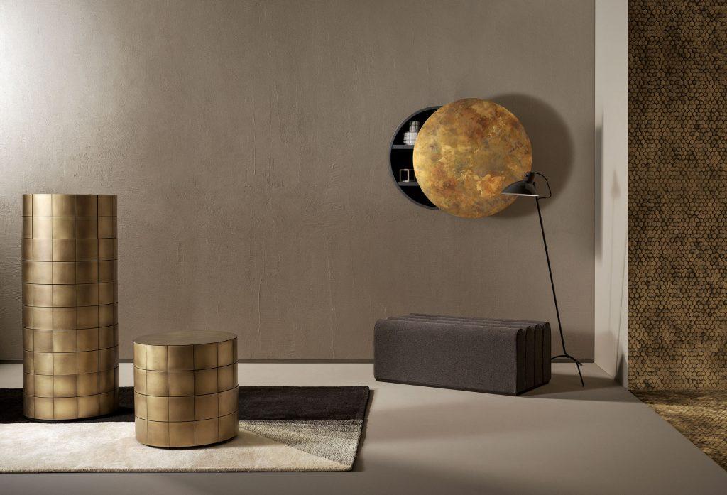Contenitori Pandora e rivestimento Copycat - Collection De Castelli