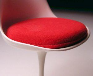 Dettaglio sedia zona living - Knoll Genesin