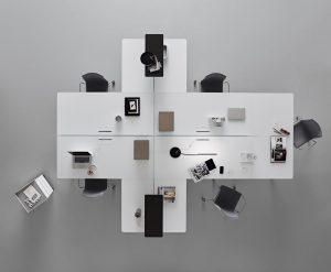 Flat System office - Rimadesio Genesin